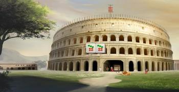 Маджонг : Античный Рим