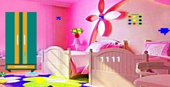 Выйти из розовой комнаты