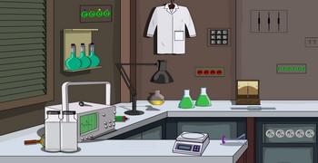 Покинуть лабораторию