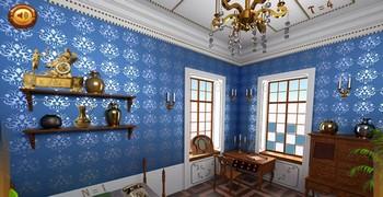 Старая синяя комната