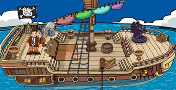 Спасти музчинку с корабля