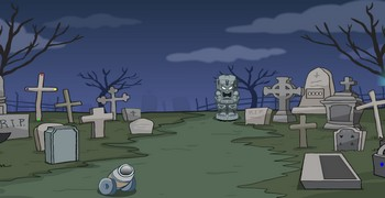 Сокровище на кладбище