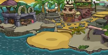 Освободи крокодила из пещеры
