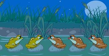 Тест лягушки