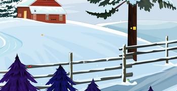 Выйти из зимней хаты
