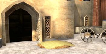 Побег из старого арабского города