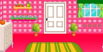 Выйти из комнаты розовой
