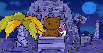 Тяга медведя к мёду