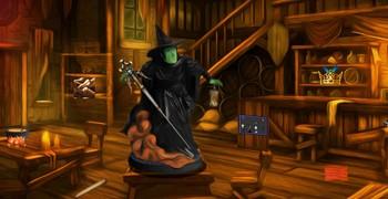 Побег из дома ведьмы