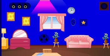 Выйти из маленького синего хауза