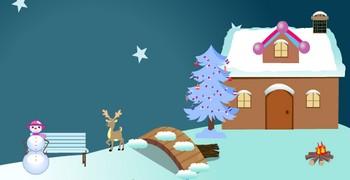 Ускользнуть из дома в снегопад