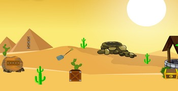 Упылить из дома в пустыне