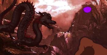 Удалиться с земли драконов