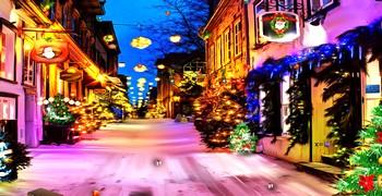 Найти рождественскую гирлянду