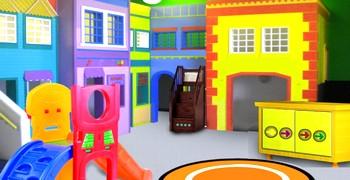 Уйти из детской игровой комнаты