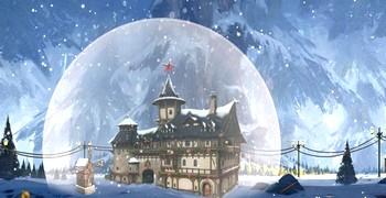Уйти из снежного дома под куполом