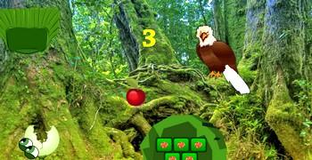 Бежать из леса с орлами