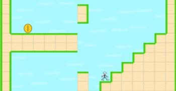 Мужик не умеет прыгать