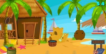 Побег из дома на пляже