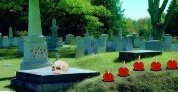Сокровища с кладбища