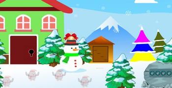 Сбежать из новогоднего дома