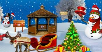 Найти конфеты на Рождество