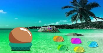 С секретного праздничного пляжа