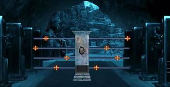 Забрать сокровища тёмного храма
