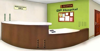 Найти бумажку в больнице