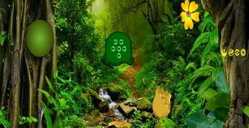 Выйти из лесу зелёного