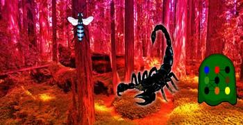 Лес чёрных скорпионов