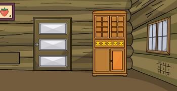 Выйти из комнаты деревянной