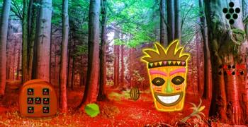 Сказочный лес с идолами