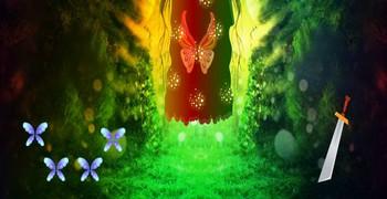 Фэнтези фея-бабочка