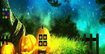 Девочка-тыква на Хэллоуин