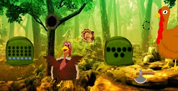 Турки в лесу