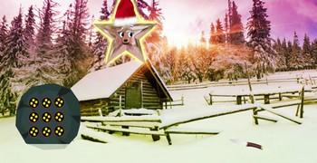 Рождественский звёздный лес
