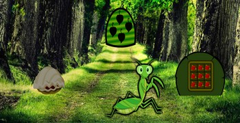 Побег из леса насекомых
