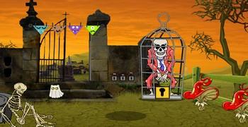 Зомби в клетке