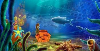 Морской конёк утечь желает