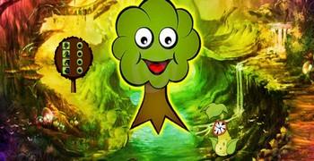 Лес живых деревьев - побег