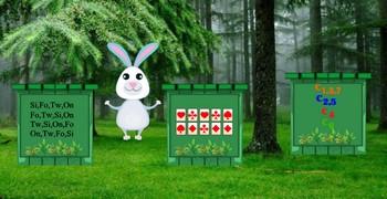Поиск морковки для кролика