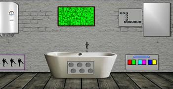 Комната простая модерновая