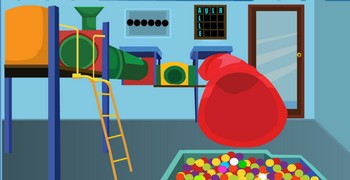Есть ли выход из детской комнаты?