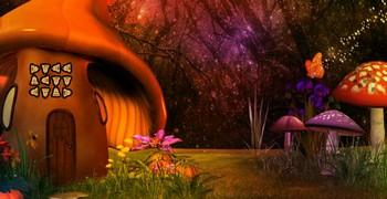 Побег из грибного леса