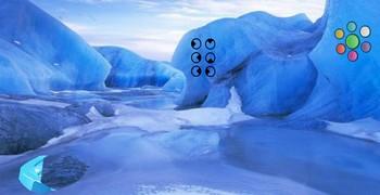 В леднике заблудились