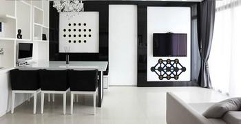 Бело-чёрная комната люкс