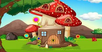 Дом из мухоморов