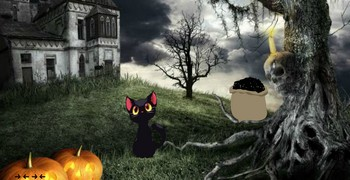 Побег из замка на кладбище