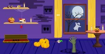 Пурпурная комната в Хэллоуин